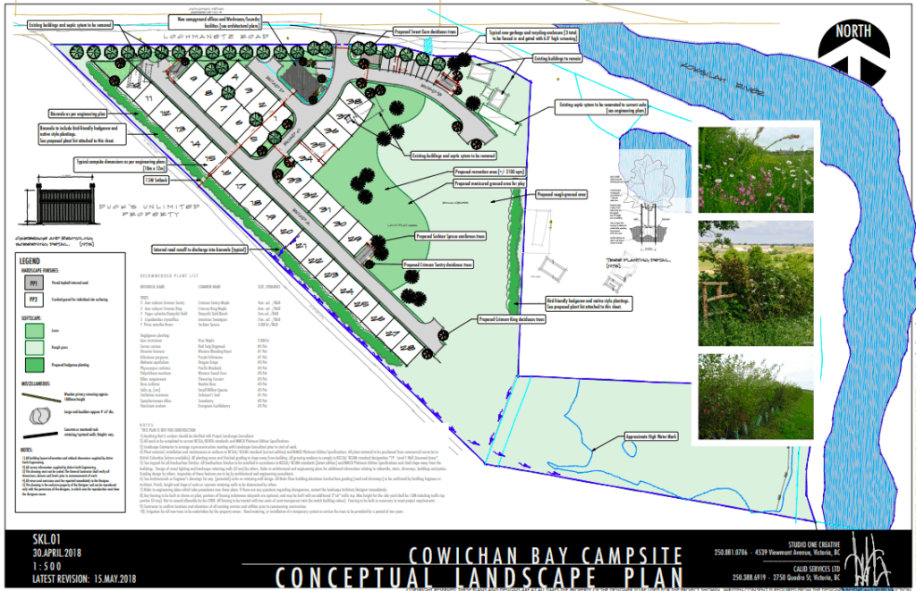 cowichan bay campground development